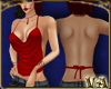 VA ~ Sparkly Red Top