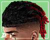 !D Combed Locs Red