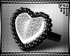 -P- Plated Heart Ring /R