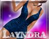 *L* Sexy Blue Dress AF
