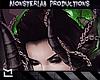 ¤ Chain Horns Green