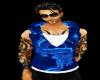 Blu Dargon Muscled hoody
