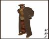 [EDJ]Cowboy Cowhide Coat