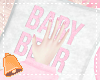 🔔 Baby Bear Pillow