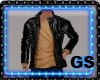 GS LEATHER JACKET & TEE