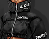 ღ Black Puffer Jacket