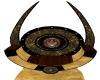 Brass Emblem Throne