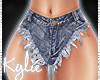 RLL Distressed Shorts