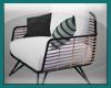 [Rain] Blk Oia Chair