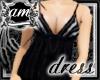 [AM] Grace Black Dress