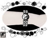 ~F~ Skully Sparkle Watch