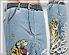 "Ⱥ"" Water Tiger Pants"