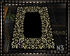 Gold & Black Pent H Rug