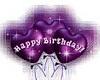 Purple BalloonsH-Bday