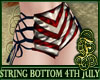 String Bottom 4th July