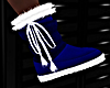 XMAS BOOTS BLUE
