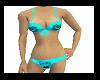 !tb blue wow bikinis