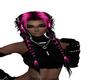 Carley Black/Pink