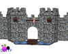 play castle with moat