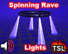 Spinning Rave Lights