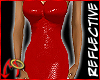 SnakeDress Red