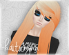 teagan hair | orange