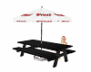 scaled picnic table 40%