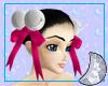 Pink Hair Bells