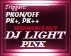 PINK DJ LIGHT