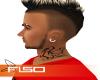 Tattoo - Neck DJ Tribal