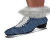 RR-Denim Ice Skates