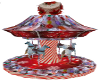 christmas candy carousel
