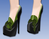 Harlequin Christmas shoe