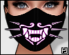 ₄ Purple Neon Mask