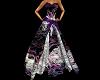 long dress butterfly