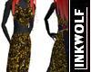 Glitter & Gold Skirt