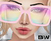 Pink Holo Sunglasses Q