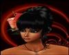 black Nk hair