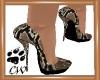 CW Snake Skin Pumps