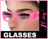"""Glasses Pink May's"