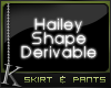 K| Hailey: Skirt w/ Pant