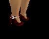 Heels with Gem Stones