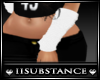  SS  White Arm Warmers