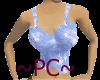 ~PC~Busty tank blue