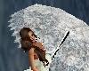 Animated Lace Umbrella