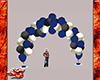 Wed/Party Balloons blue