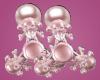 Skull Spinner Earrings
