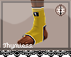 Yellow MMA Socks