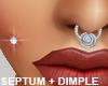 Dimple Piercing - Septum