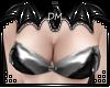 [DM] Silver PVC Top